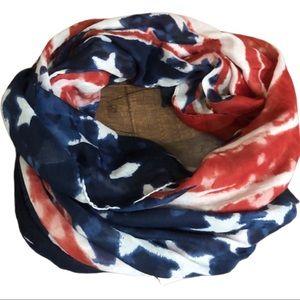 LOF Stars | Stripes oversized scarf | cover up USA